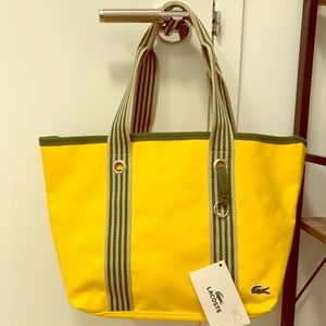 Sporty Lacoste Tote Bag
